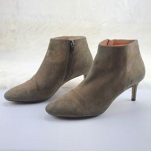 Via Spiga Suede Ankle Boots Sz 8M